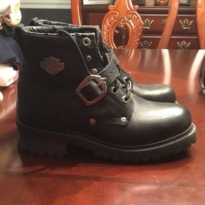HARLEY DAVIDSON WOMENS BOOTS SIZE 8